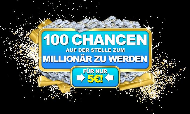 500€ Online Casino Bonus & 100 kostenlose Chancen, um zu